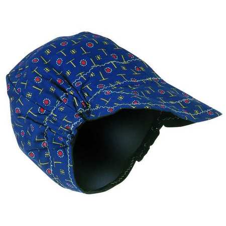 Welding Cap,  Reversible,  Patterned on 1-Side and Soli