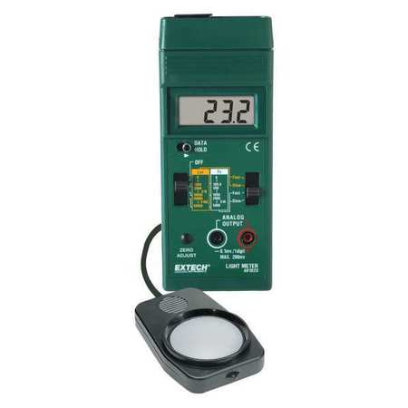 Digital Light Meter, 0-5000 Foot Candles