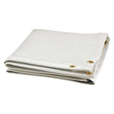 Welding Blanket, 6 ft. W, 6 ft., White