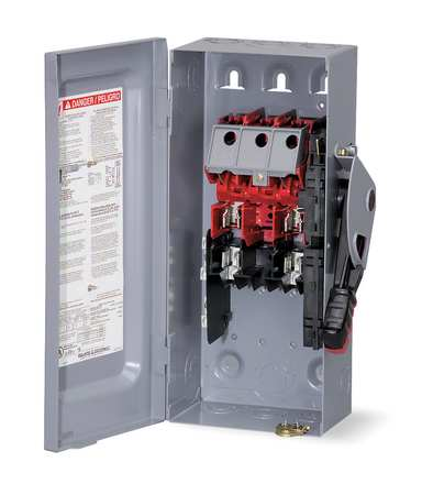 60 Amp 240VAC Single Throw Safety Switch 2P
