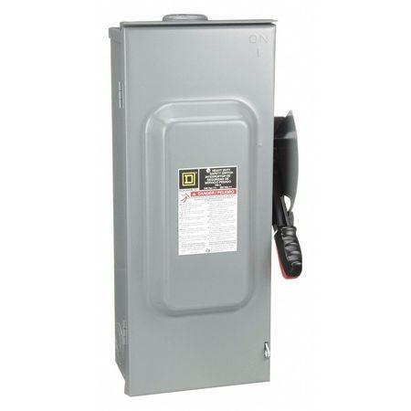 100 Amp 240VAC Single Throw Safety Switch 2P