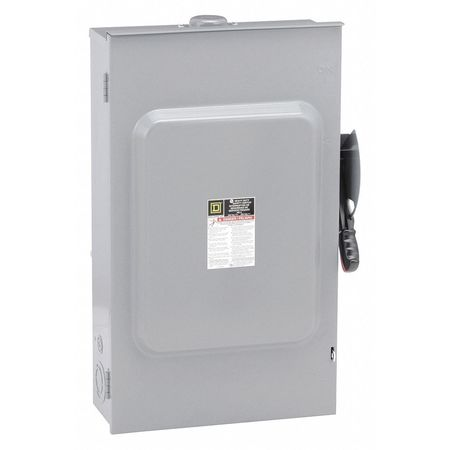 200 Amp 240VAC Single Throw Safety Switch 2P