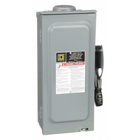 30 Amp 600VAC Single Throw Safety Switch 3P