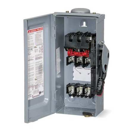400 Amp 240VAC Single Throw Safety Switch 3P