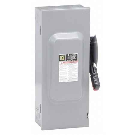 100 Amp 240VAC Single Throw Safety Switch 3P
