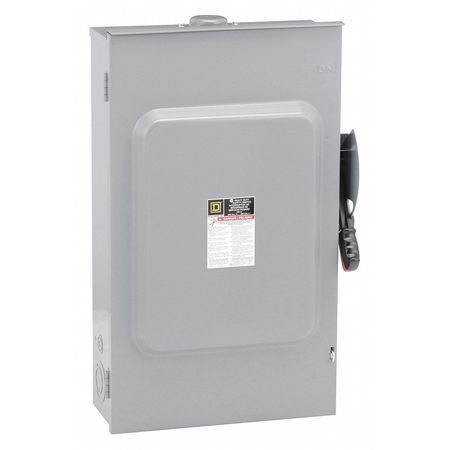 200 Amp 240VAC Single Throw Safety Switch 3P