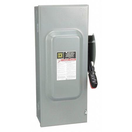 100 Amp 600VAC Single Throw Safety Switch 3P
