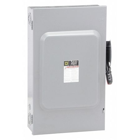 200 Amp 600VAC Single Throw Safety Switch 3P