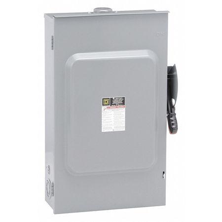 200 Amp 600VAC Single Throw Safety Switch 3P