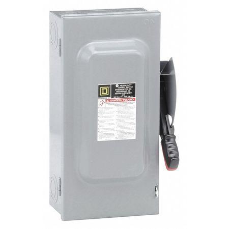 60 Amp 600VAC Single Throw Safety Switch 3P