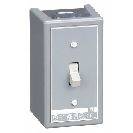 Manual Motor Switch, NEMA, 30A, 600V