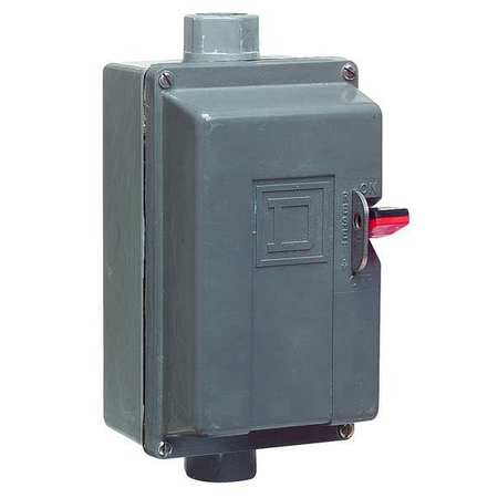 Manual Motor Starter, 1 to 1.6A, 600V