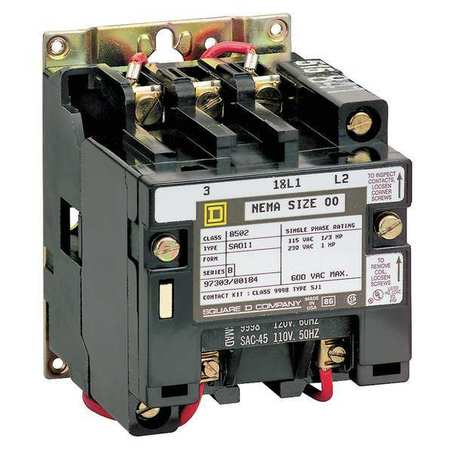 multipole lighting contactors by square d zoro com 357 00 ea