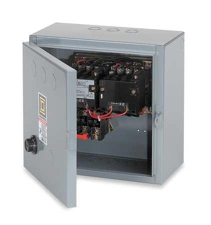 Magnetic Motor Starter, NEMA, 208V, 3P, 90A