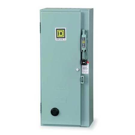NEMA Fusible Str, Size 0, 120V Coil, 1 Enc