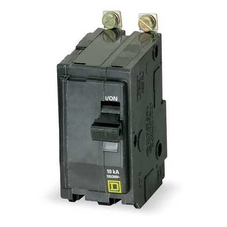 2P High Interrupt Capacity Circuit Breaker 15A 120/240VAC