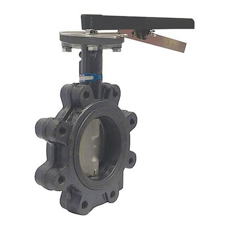 Butterfly Valve, Lug, Pipe Size 6 In
