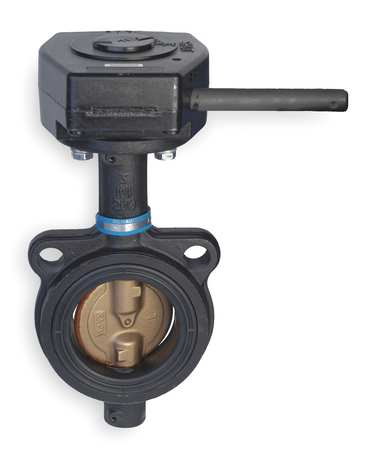 Butterfly Valve, Wafer, 8 In, CI, EPDM, Gear