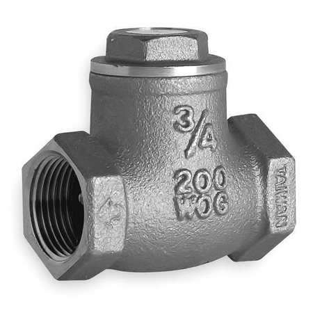 "1/2"" FNPT Brass Swing Check Valve"