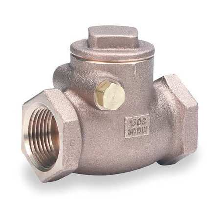 "1/4"" FNPT Bronze Swing Check Valve"