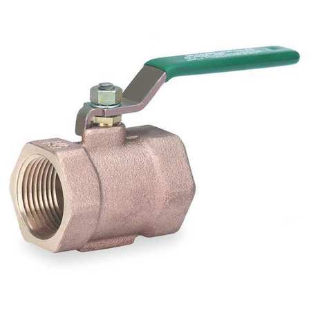 Disc Valve, 1 Pc, 1-1/4 In, Bronze, FNPT