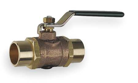 Disc Valve, 1 1/4 In Solder, Bronze