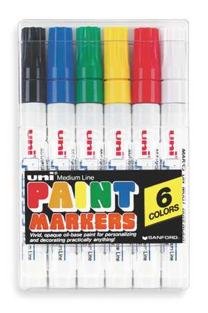 Paint Marker Kit, PK6