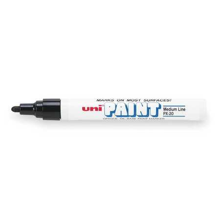 Paint Marker, Black, PK12