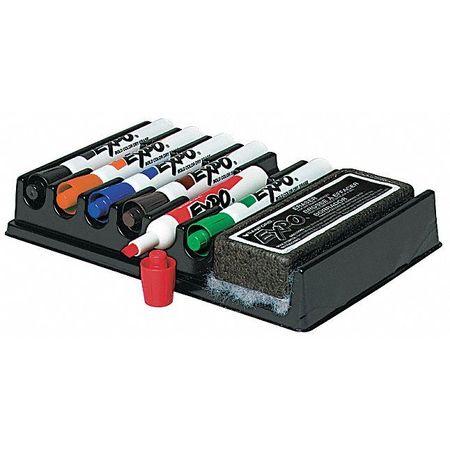 Dry Erase Marker Set,  Chisel Tip Assorted Colors