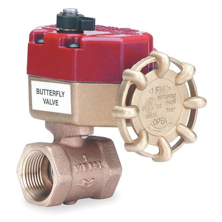 Control Valve, Fire Sprinkler, 1 In NPT