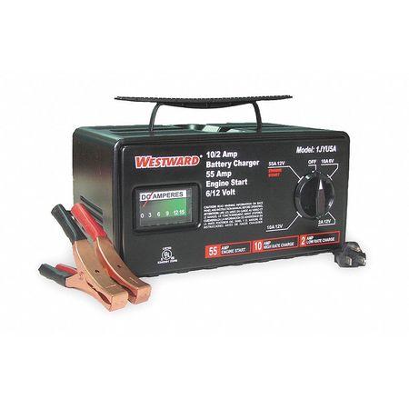 Battery Charger, 6/12V (M), 55 A Start