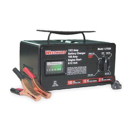 Battery Charger, 6/12V (M), 100 A Start