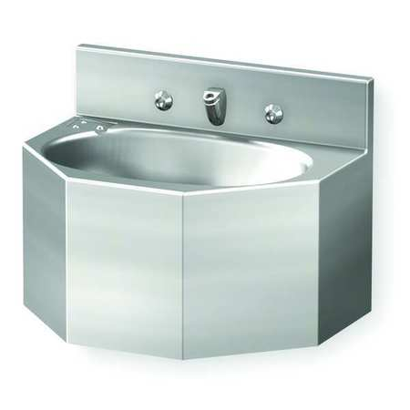 Zurn Bathroom Sinks zurn bathroom sink, white, 14-1/4 in. overall h z5410 | zoro