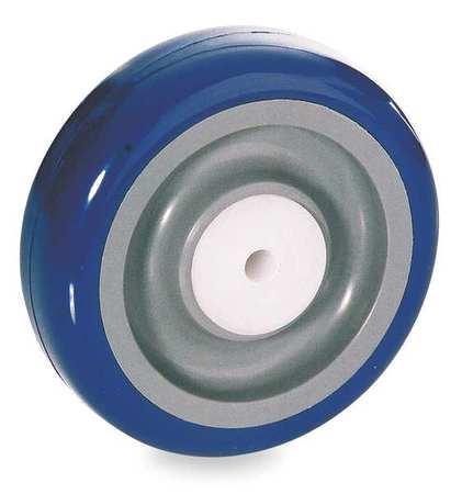 Caster Wheel, 250 lb., 5In D x 1-1/4In