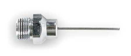 Air Gun Needle Nozzle, 1/8 NPSM, 1 In L