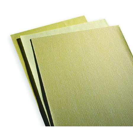 Sanding Sheet, 11x9 In, P400 G, AlO, PK100