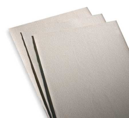 Sanding Sheet, 11x9 In, 50 G, AlO, PK50