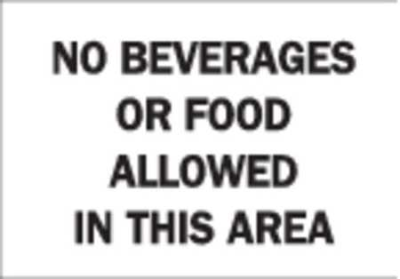 Notice Sign, 10 x 14In, BK/WHT, ENG, Text