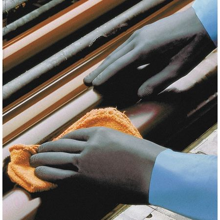 Chemical Resistant Glove, 26 mil, Sz 8, PR