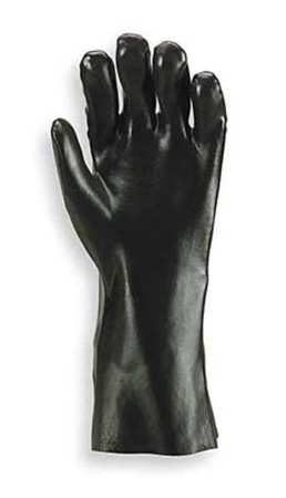 PVC and Nitrile-Coated Gloves,  Black Knight