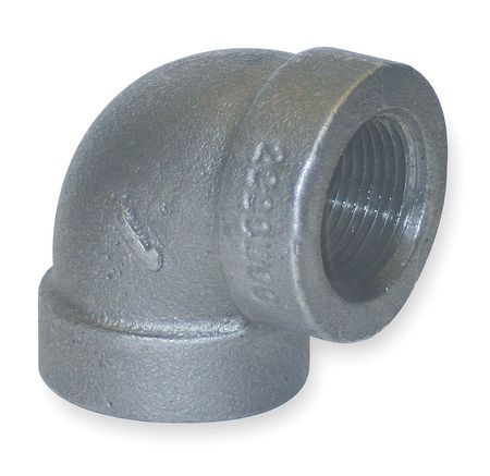 "3/4"" FNPT Galvanized 90 Degree Elbow"