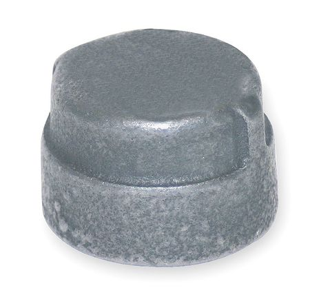 Cap, Galv Malleable Iron, 300 PSI, 1 1/2 In