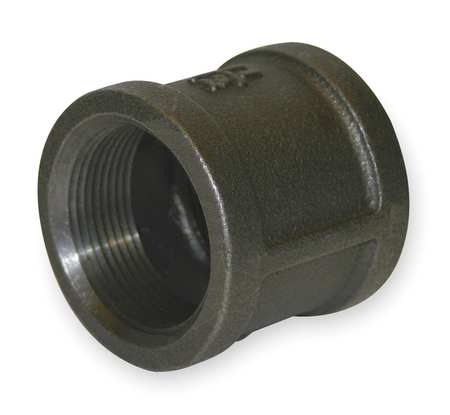 "2"" FNPT Black Malleable Iron Coupling"