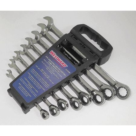 Ratcheting Wrench Set, Pieces 8