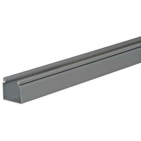 Wire Duct, Hinging Cover, Gray, L 6 Ft
