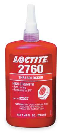 Threadlocker 2760(TM), 250mL Bottle, Red