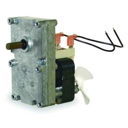 AC Gearmotor, 1 rpm, Open, 115V