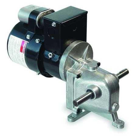 AC Gearmotor, 9.5 rpm, TENV, 115/230V