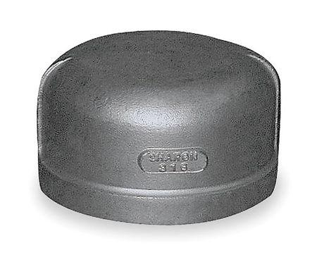 """3/8"""" FNPT SS Cap"""