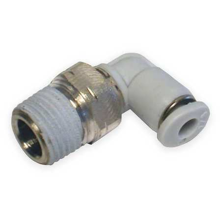 "90 Swivel Elbow, 5/32"", Poly, PK10"